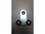 Trolley 600/670 wielen (staal)